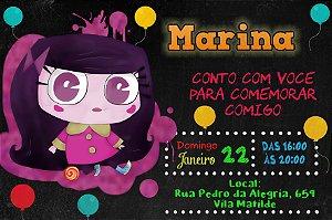 Convite digital personalizado Historietas Assombradas 001