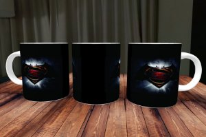 Caneca Batman V Superman