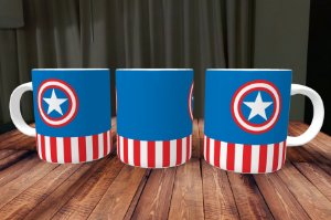 Caneca Capitão America 1