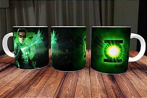 Caneca Lanterna Verde 3