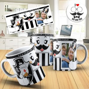 Caneca do Vasco com foto