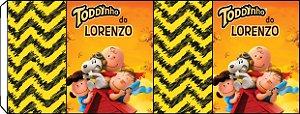 Embalagem com 2 rotulos Toddynho Snoopy e Charlie Brown