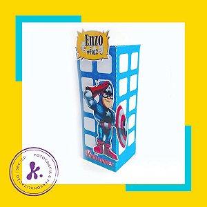 Kit com 8 caixinhas Vingadores