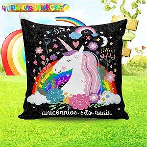 Almofada Personalizada para Festa Unicornio 2