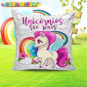 Almofada Personalizada para Festa Unicornio 3