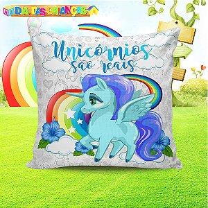 Almofada Personalizada para Festa Unicornio 4
