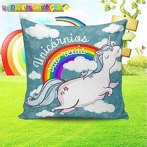 Almofada Personalizada para Festa Unicornio 7
