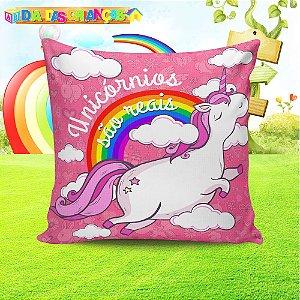 Almofada Personalizada para Festa Unicornio 8