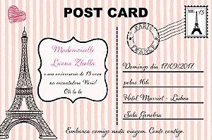Convite digital personalizado Paris 001