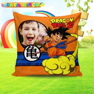 Almofada Personalizada para Festa Dragon Ball Z 1