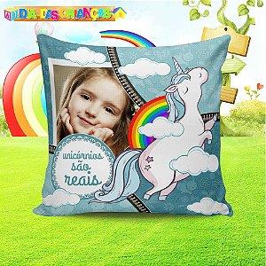 Almofada Personalizada para Festa Unicornio 11