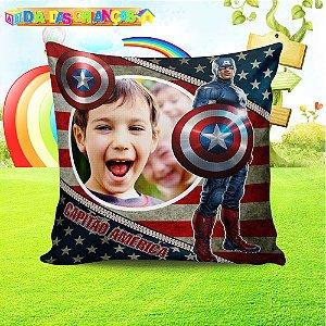 Almofada Personalizada para Festa Capitão América 2