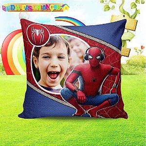 Almofada Personalizada para Festa Homem Aranha