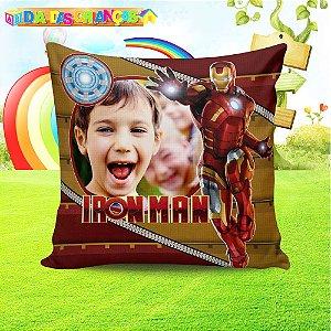 Almofada Personalizada para Festa Homem de Ferro
