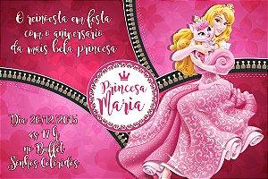 Convite digital personalizado A Bela Adormecida 011