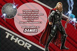 Convite digital personalizado Thor 003