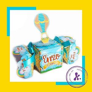 Kit com 8 caixinhas Pipa, Balão, Catavento