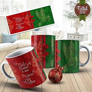 Caneca Personalizada para o Natal 010