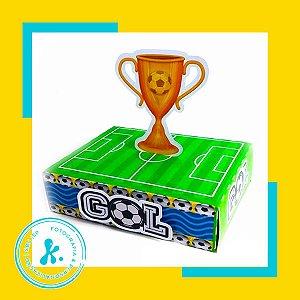 Kit com 8 caixinhas Futebol