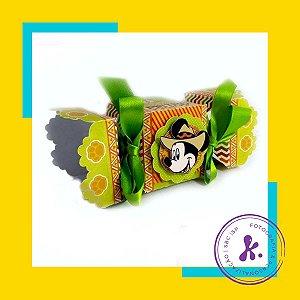 Kit com 10 caixinhas Mickey Safari