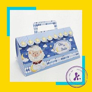 Kit com 14 caixinhas Ovelhinha Azul