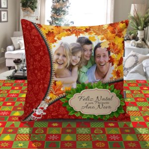 Almofada Quadrada de Natal 044