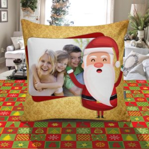 Almofada Quadrada de Natal 055