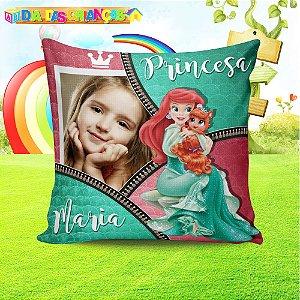 Almofada Quadrada Princesas Disney 001