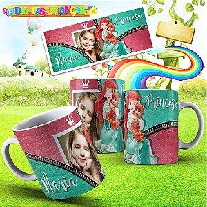 Caneca Princesas Disney 001