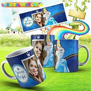 Caneca Princesas Disney 005