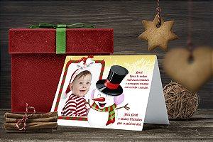 Cartão de Natal Personalizado Impresso 012