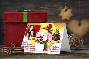 Cartão de Natal Personalizado Impresso 011