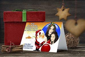 Cartão de Natal Personalizado Impresso 010