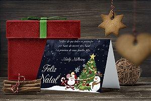 Cartão de Natal Personalizado Impresso 009