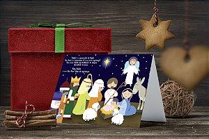 Cartão de Natal Personalizado Impresso 008
