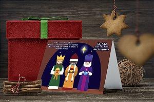 Cartão de Natal Personalizado Impresso 007