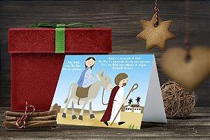 Cartão de Natal Personalizado Impresso 004