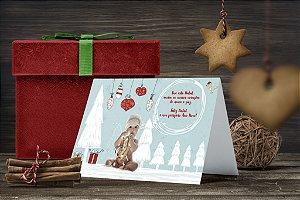 Cartão de Natal Personalizado Impresso 003