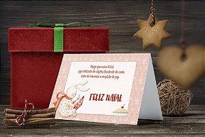 Cartão de Natal Personalizado Impresso 002