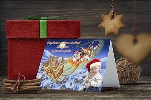Cartão de Natal Personalizado Impresso 032