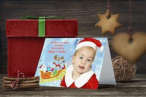 Cartão de Natal Personalizado Impresso 036