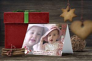 Cartão de Natal Personalizado Impresso 038