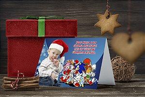 Cartão de Natal Personalizado Impresso 041