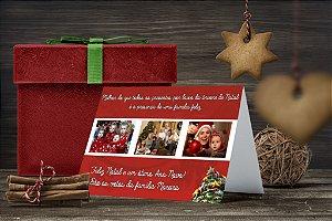 Cartão de Natal Personalizado Impresso 043