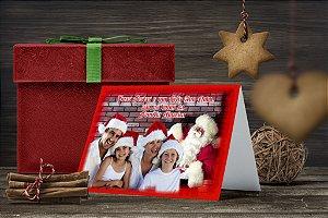 Cartão de Natal Personalizado Impresso 049