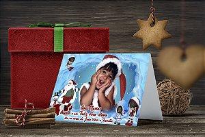 Cartão de Natal Personalizado Impresso 051