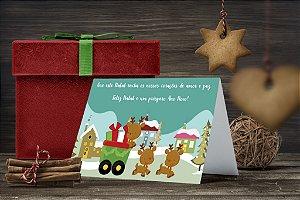 Cartão de Natal Personalizado Impresso 058
