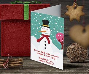 Cartão de Natal Personalizado Impresso 060