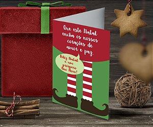 Cartão de Natal Personalizado Impresso 063