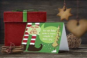 Cartão de Natal Personalizado Impresso 064